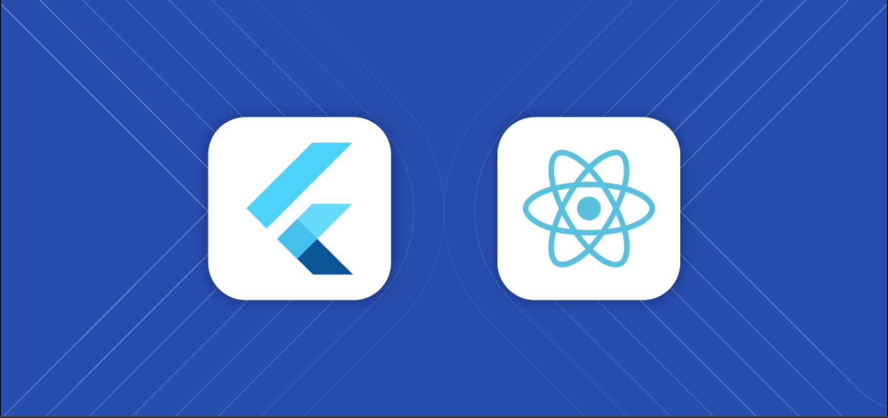 react and flutter